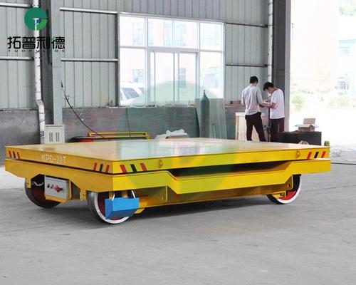 北京kpd-20t旋转台面低压轨道电动平车