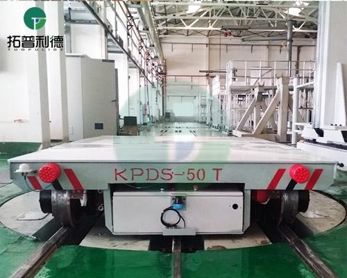 kpds-50t低压轨道电动平车